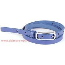 Ремень 15 мм BLACK TORTOISE жен 0200014 гладкий,    синий