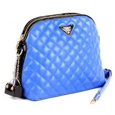 Сумка женская искусственная кожа Vensi-90236А,    1отд,    плечевой ремень,    синий УЦЕНКА/ДЕФЕКТ
