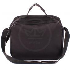 Сумка мужская Дизайн-Эксперт-2,    2отд,    плечевой ремень,    2внеш карм,    черный