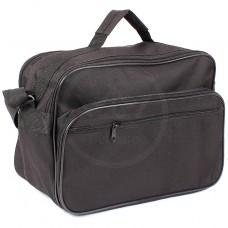 Сумка мужская текстиль Дизайн-Эксперт-4,    2отд,    плечевой ремень,    2внеш карм,    черный