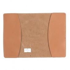Обложка для паспорта FNX-PVS-001 натуральная кожа бежевый гладкий   (257)