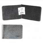 Зажим для купюр FNX-УЗ-001 н/к,    серый флотер двухцветный   (1037)