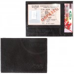 Обложка для автодокументов Premier-О-74   (компакт)    натуральная кожа коричн.темный ладья   (328)