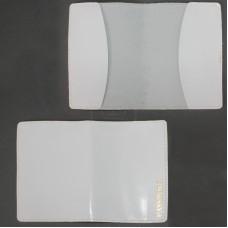 Обложка для паспорта FNX-PVS-001 натуральная кожа белый шик   (4874)