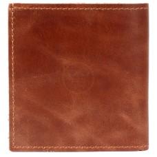 Портмоне мужское Premier-М-55 натуральная кожа 1 отд,    2 карм,    коричневый пулл-ап   (40)