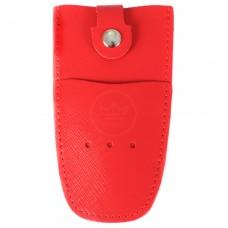Футляр для ключей Premier-К-112 натуральная кожа алый сафьян   (535)