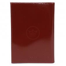 Обложка для паспорта натуральная кожа О.24.-1.cognac,       (двойная стенка)