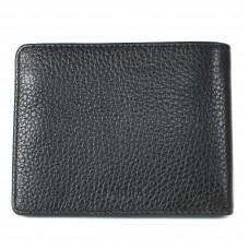 Портмоне мужское натуральная кожа «Brooklyn»-PM.56.BR.,    1отд,    4карм,    черный