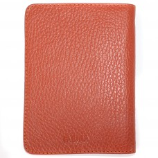 Обложка для автодокументов натуральная кожа «Talisman»-BV.66.SN,    рыжий
