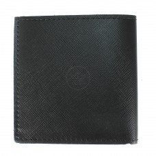 Портмоне мужское Premier-М-55 натуральная кожа 1 отд,    2 карм,    черный сафьян   (589)