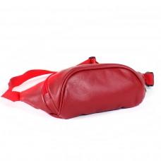 Сумка женская искусственная кожа SilverTop-6036 поясная,    1отд,    красный