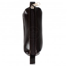 Футляр для ключей-FNX-КЛМ-101   (малая)    натуральная кожа коричневый наплак   (348)