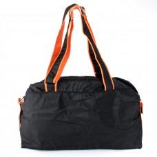 Сумка молодежная SKP-221,    1отд,    регул/ручки,    черный/оранж    (Glamour)