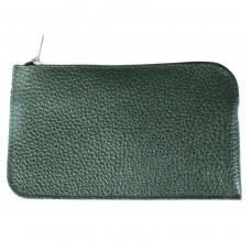 Ключница натуральная кожа KL.56.PM.темно-зеленый.