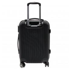 "Чемодан 28""   Картекс-   (90л) ,    0207 ABS,    4 колеса,    пластик,    черный"