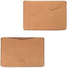 Обложка-чехол для паспорта PRT-П-24 натуральная кожа краст наполи рыжий
