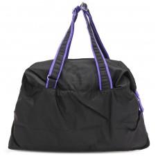 Сумка молодежная SKP-221,    1отд,    регул/ручки,    черный/фиолет    (Glamour)