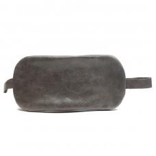 Футляр для ключей-FNX-КЛВ-104 натуральная кожа серый крек   (4330)