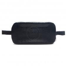 Футляр для ключей-FNX-КЛВ-104 натуральная кожа синий игуана   (311)