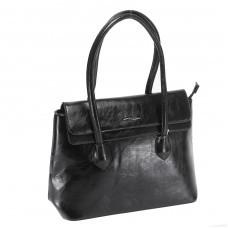 Сумка женская искусственная кожа ZEL-9348 1отд+карм/пер,    черный